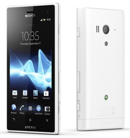 Sony Xperia acro S Waterproof Smartphone white