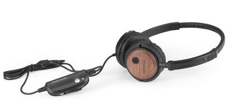 Tivoli Audio Radio Silenz Active Noise canceling Headphones Walnut