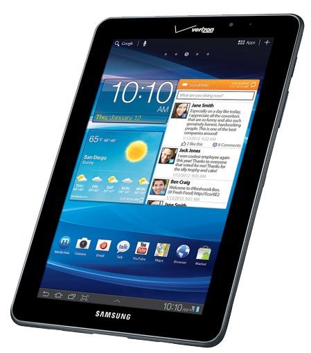 Verizon Samsung Galaxy Tab 7.7 LTE 4G Android Tablet 1