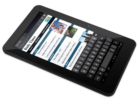 eMatic eGlide XL Pro 2 10-inch Android 4.0 Tablet keyboard