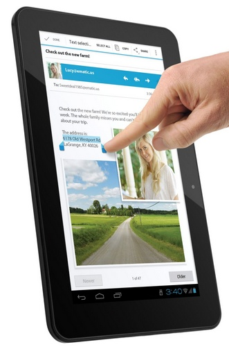 eMatic eGlide XL Pro 2 10-inch Android 4.0 Tablet touch