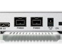Akitio Neutrino U3+ USB 3.0 2.5-inch Hard Drive Enclosure connectors