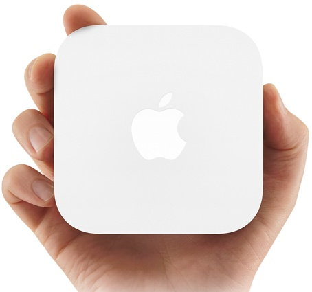 Apple AirPort Express MC414 Updated with Simultaneous dual-band 802.11n on hand