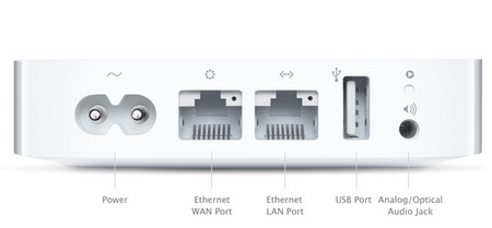 Apple AirPort Express MC414 Updated with Simultaneous dual-band 802.11n