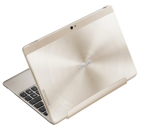 Asus Transformer Pad Infinity TF700 with Full HD IPS Touchscreen Champagne Gold back