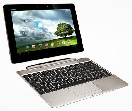 Asus Transformer Pad Infinity TF700 with Full HD IPS Touchscreen Champagne Gold docking 1