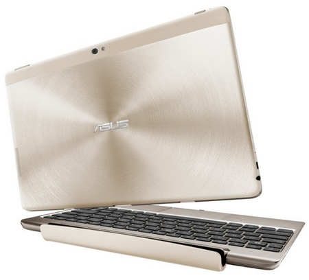 Asus Transformer Pad Infinity TF700 with Full HD IPS Touchscreen Champagne Gold docking