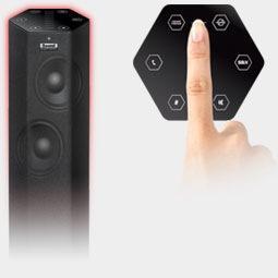 Creative Sound BlasterAxx Wireless Speakers control