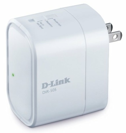 D-Link DIR-505 SharePort All-in-One Mobile Companion angle