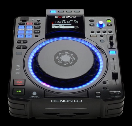 Denon SC2900 DJ Controller and Media Player top
