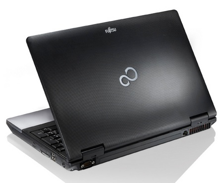 Fujitsu Lifebook E752 Desktop Replacement Notebook with Ivy Bridge back