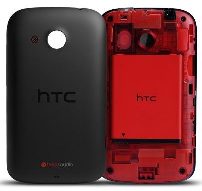 HTC Desire C Budget Smartphone back