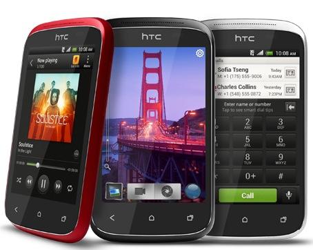 HTC Desire C Budget Smartphone colors