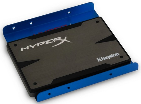 Kingston HyperX 3K Solid State Drive with 3.5-inch bracket