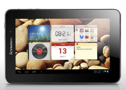 Lenovo LePad A2107 Dual-SIM Android Tablet front