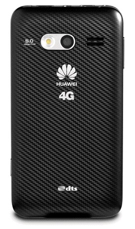 MetroPCS Huawei Activa 4G LTE Android Smartphone back