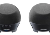 Pioneer S-MM251 Compact Notebook Speakers black