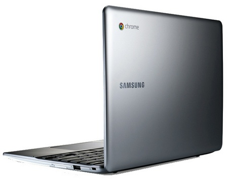 Samsung Series 5 Chromebook 550 laptop back