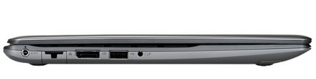 Samsung Series 5 Chromebook 550 laptop side