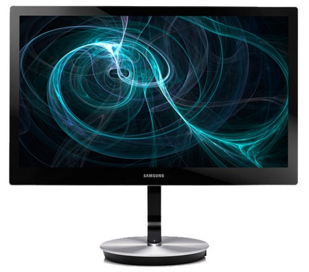 Samsung Series 9 27-inch Monitor with 2560x1440 Resolution front