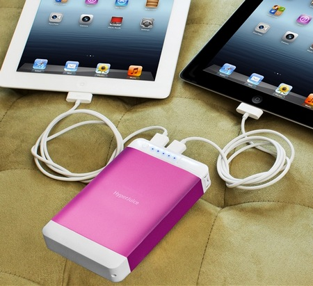 Sanho HyperJuice Plug P15 High-capacity Portable Battery pink
