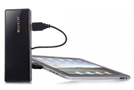 Satechi Portable Energy Station 5200mAh Portable Battery with ipad