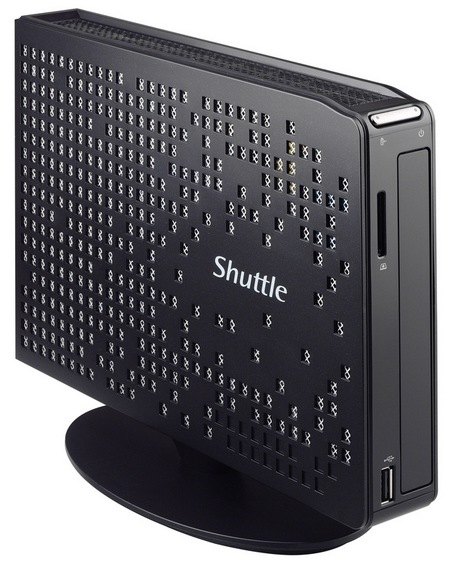 Shuttle XPC XS35GTA V3 Slim PC gets Radeon HD7410M Graphics angle