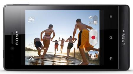 Sony Xperia miro Social Smartphone landscape