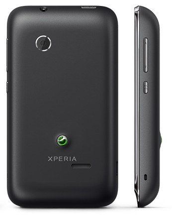 Sony Xperia tipodual Entry-level dual-sim Android Phone back