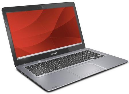 Toshiba Satellite U845 Affordable Ultrabook angle