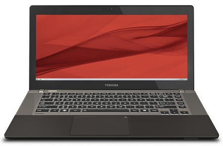 Toshiba Satellite U845W Ultrabook with a 21-9 Ultrawide Cinematic Display front