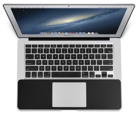 Twelve South SurfacePad for Air Leather Cover MacBook Air top
