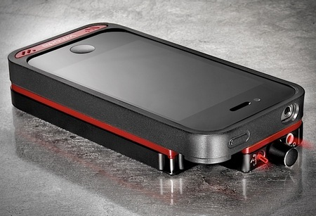 V-Moda VAMP Headphone Amp, DAC and Battery Case for iPhone 4 4S
