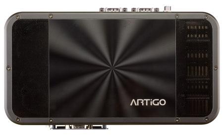 VIA ARTiGO A1200 Slim Fanless PC Kit top