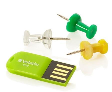 Verbatim Store n Go Micro USB Drive rugged USB flash drive green