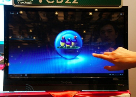 ViewSonic VCD22 22-inch Android Smart Display touch