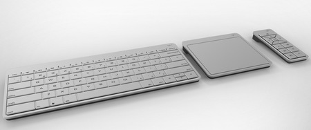 Vizio All-in-one PC gets Ivy Bridge keyboard touchpad remote