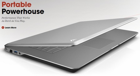 Vizio Notebook Announced with Aluminum Construction and Style lid