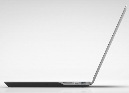 Vizio Notebook Announced with Aluminum Construction and Style side