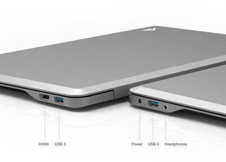 Vizio Thin + Light Ultrabooks comes in 14-inch and 15.6-inch ports