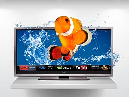 Vizio XVT Series Cinemawide 21-9 3D XVT3D580CM HDTV