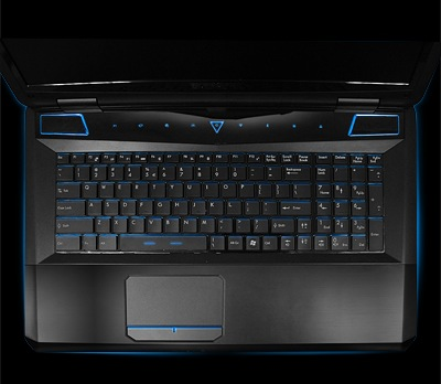 iBuyPower Valkyrie CZ-17 Gaming Notebooks top