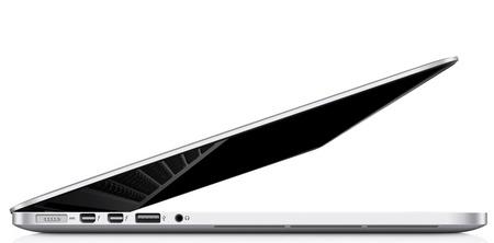 Apple MacBook Pro with Retina Display side 3