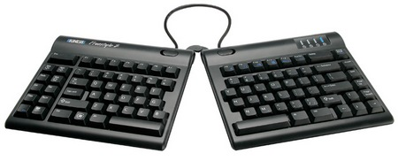 Kinesis Freestyle2 Split Keyboard pivor tether