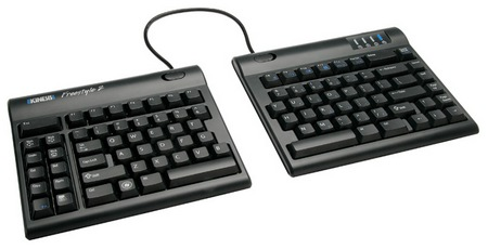 Kinesis Freestyle2 Split Keyboard separated