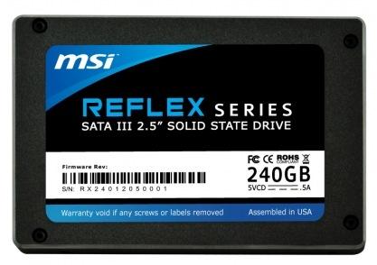 MSI Reflex Series SATA III SSD 1