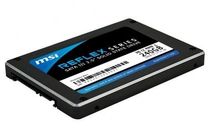 MSI Reflex Series SATA III SSD