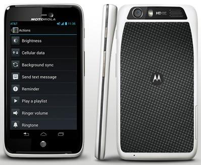 Motorola ATRIX HD 4G LTE Smartphone back