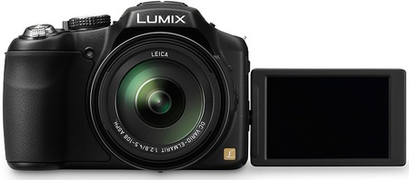 Panasonic LUMIX DMC-FZ200 Long-zoom Camera with 24x Optical Zoom swivel lcd