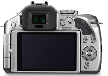 Panasonic LUMIX DMC-G5 Micro43 Mirrorless Camera back